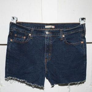 Levi's womens cut off shorts size 14 -4825-